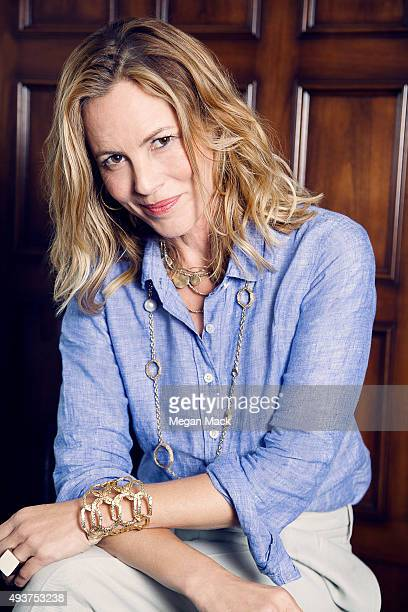 Actress Maria Bello poses for a portrait at TheGrill for The Wrap on October 6 2015 in Los Angeles California