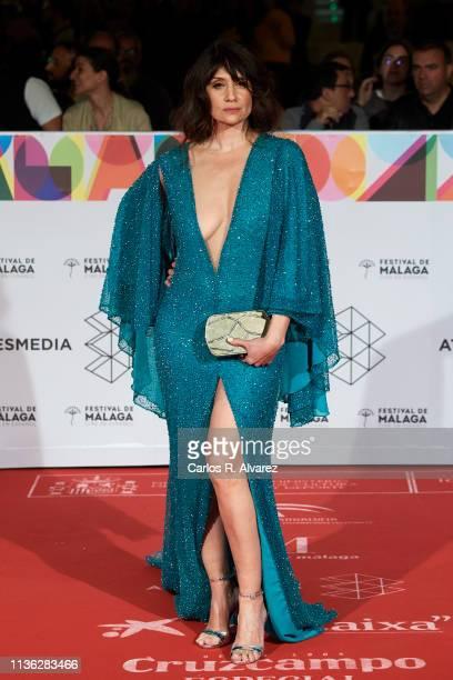Actress Maria Botto attends 'Esto no es Berlin' premiere during the 22th Malaga Film Festival on March 16 2019 in Malaga Spain