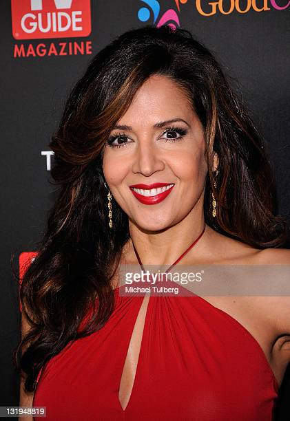Actress Maria Canals Barrera arrives at TV Guide magazine's Annual Hot List Party at Greystone Mansion Supperclub on November 7 2011 in Beverly Hills...