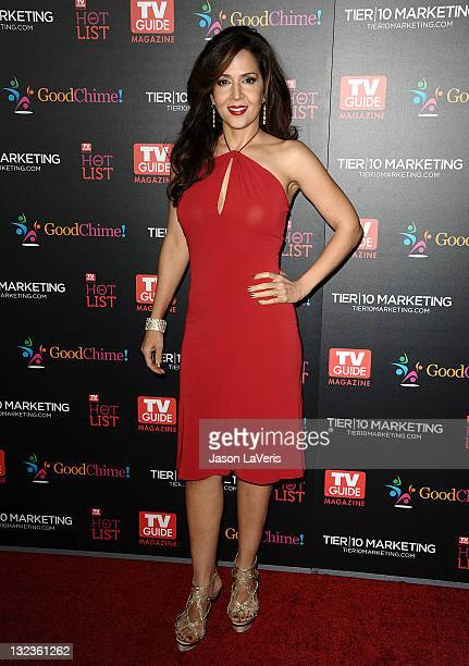 Actress Maria Canals Barrera attends the 2011 TV Guide Magazine Hot List Party at Greystone Manor Supperclub on November 7 2011 in West Hollywood...