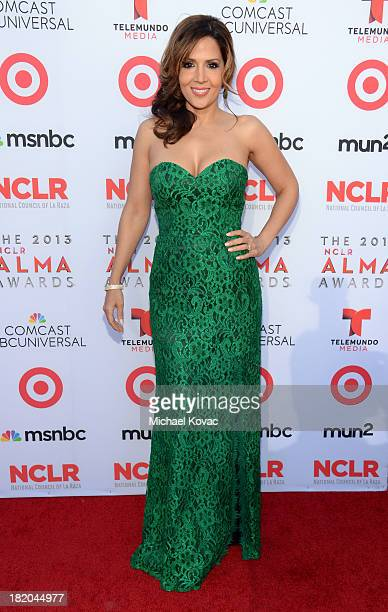 Actress Maria Canals Barrera attends the 2013 NCLR ALMA Awards at Pasadena Civic Auditorium on September 27 2013 in Pasadena California