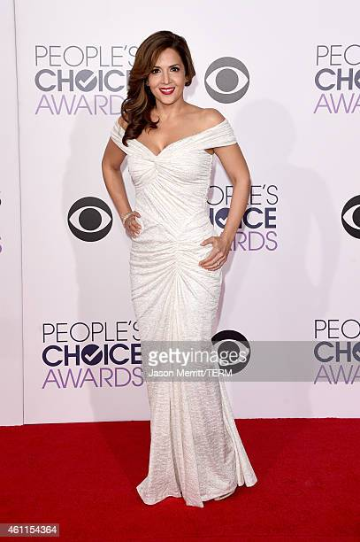 Actress Maria Canals Barrera attends The 41st Annual People's Choice Awards at Nokia Theatre LA Live on January 7 2015 in Los Angeles California