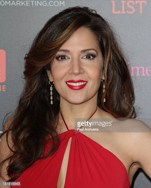 Actress Maria Canals Barrera attends TV Guide magazineÕs annual Hot List Party at Greystone Manor Supperclub on November 7 2011 in West Hollywood...