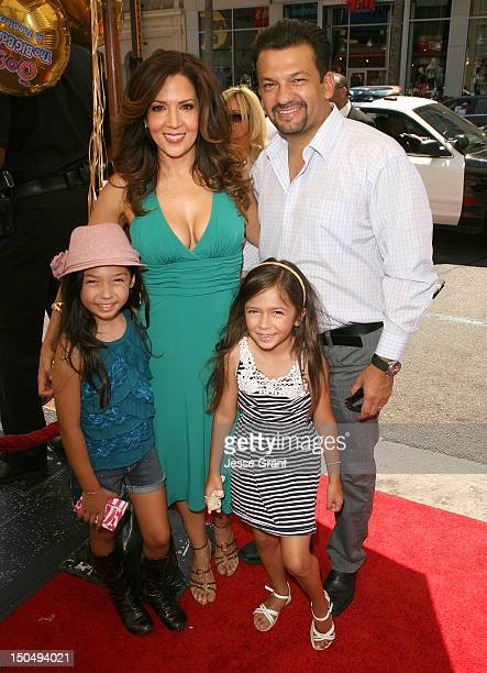 Actress Maria CanalsBarrera and family attend The Oogieloves In The Big Balloon Adventure Los Angeles Premiere at the Grauman's Chinese Theatre on...