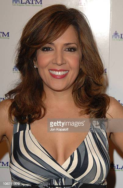 Actress Maria CanalsBarrera arrives at Disney Stars Join Rich Ross At 'A Summer Soiree The Magic of Mentoring'at The Beverly Wilshire Hotel on July...