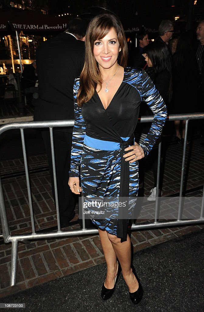 Actress Maria Canals-Barrera arrives at the Los Angeles premiere of 'Waiting for Forever' held at Pacific Theaters at the Grove on February 1, 2011 in Los Angeles, California.