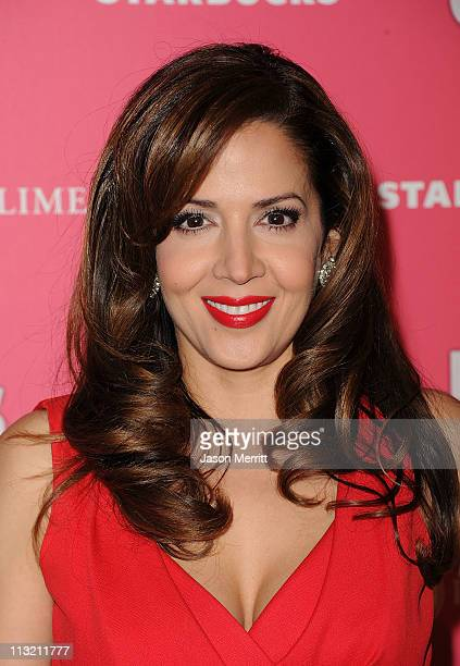 Actress Maria CanalsBarrera arrives at the Us Weekly Hot Hollywood party held at Eden on April 26 2011 in Hollywood California