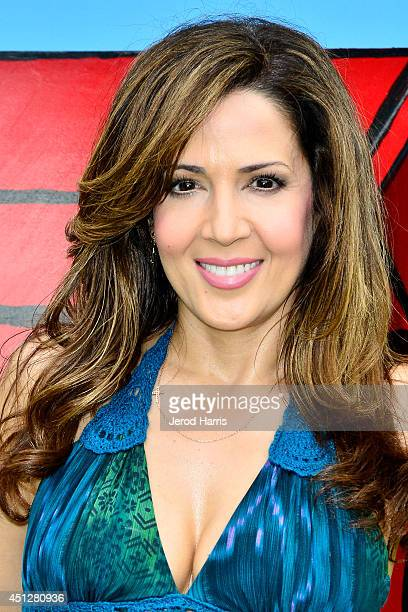 Actress Maria CanalsBarrera attends Camp Snoopy's 30th anniversary VIP party at Knott's Berry Farm on June 26 2014 in Buena Park California