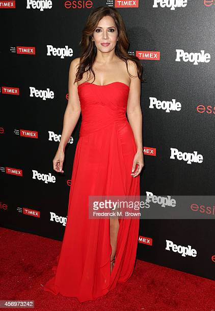 Actress Maria CanalsBarrera attends People's 'Ones To Watch' Event at The Line on October 9 2014 in Los Angeles California