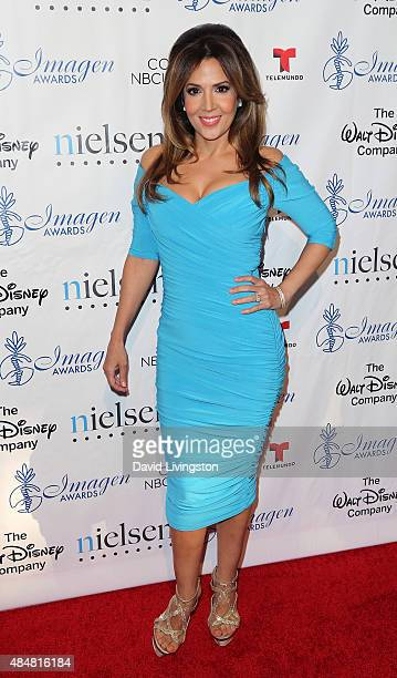 aa1ea383ed77e Actress Maria CanalsBarrera attends the 30th Annual Imagen Awards at the  Dorothy Chandler Pavilion on August