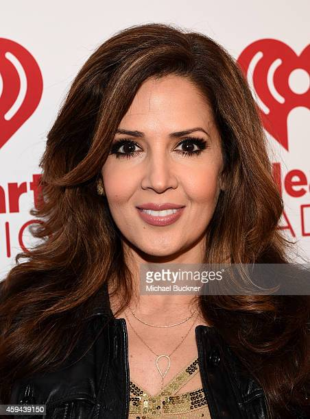 Actress Maria CanalsBarrera attends the iHeartRadio Fiesta Latina festival presented by Sprint at The Forum on November 22 2014 in Inglewood...