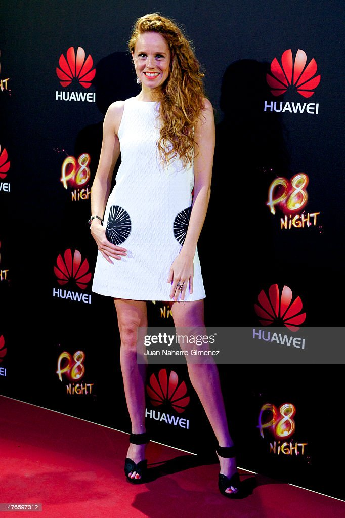 Actress Maria Castro attends the Huawei P8 presentation party at Bodevil theatre on June 10, 2015 in Madrid, Spain.