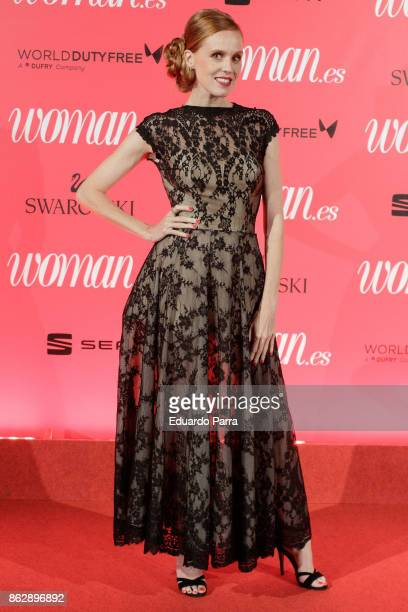 Actress Maria Castro attends the 'Woman 25th anniversary' photocall at Madrid Casino on October 18 2017 in Madrid Spain