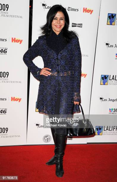 Actress Maria Conchita Alonso arrives at the 13th Annual Los Angeles Latino International Film Festival at Grauman's Chinese Theatre on October 11...