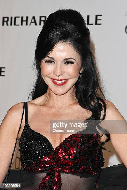 Actress Maria Conchita Alonso arrives at the 21st Annual Night of 100 Stars Awards Gala at Beverly Hills Hotel on February 27, 2011 in Beverly Hills,...