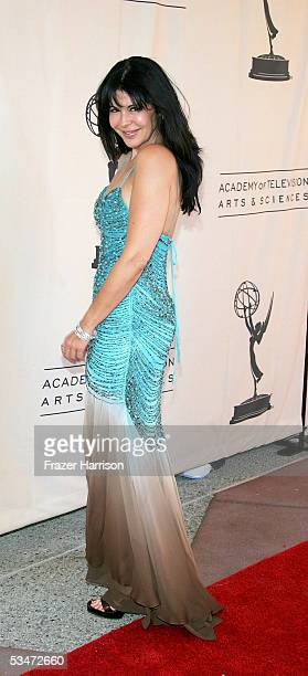 Actress Maria Conchita Alonso arrives at the 57th Annual LA Area Emmy Awards held at the Academy of Television Arts and Sciences August 27 2005 in...