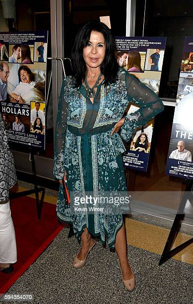Actress Maria Conchita Alonso arrives at the premiere of Sony Pictures Classics' The Hollars at the Linwood Dunn Theatre on August 22 2016 in Los...