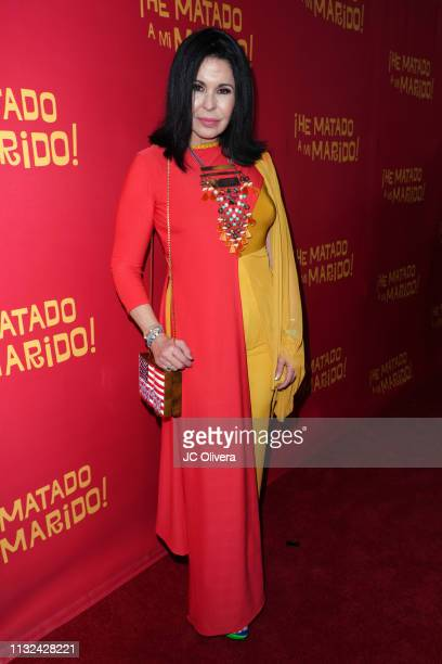 Actress Maria Conchita Alonso attends 'HE MATADO A MI MARIDO' Los Angeles Premiere at Harmony Gold Theatre on February 26 2019 in Los Angeles...
