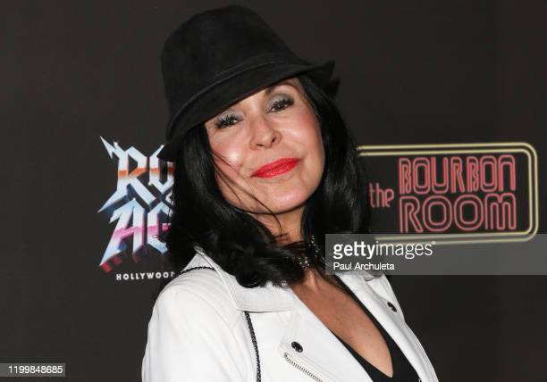 Actress Maria Conchita Alonso attends the opening night of Rock Of Ages at The Bourbon Room on January 15 2020 in Hollywood California