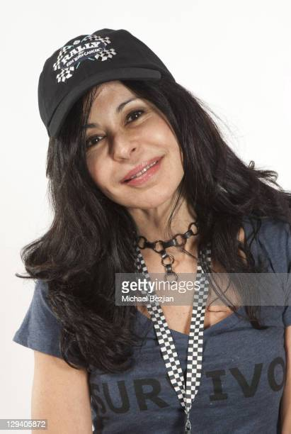 Actress Maria Conchita Alonso attends The PhotoFund Pit Stop At The 2nd Annual Rally For Kids With Cancer Scavenger Cup at Peterson Automotive Museum...