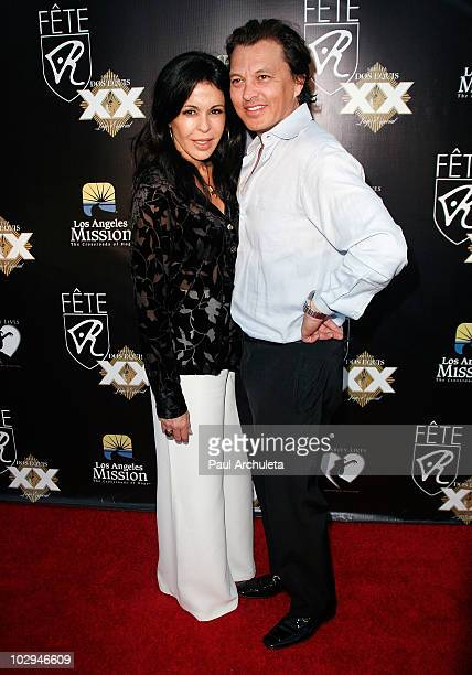 Actress Maria Conchita Alonso & guest arrive at the 2010 HollyShorts film festival - FETE Networking Event at The Kress on July 16, 2010 in...