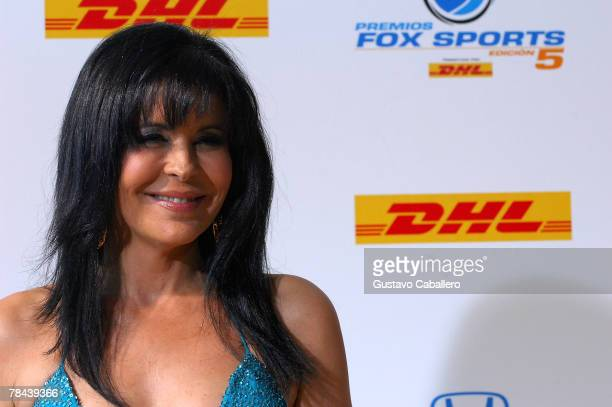 Actress Maria Conchita Alonso poses at the 5th Annual Premios Fox Sports Awards at the Fillmore Miami Beach at Jackie Gleason Theater December 12...