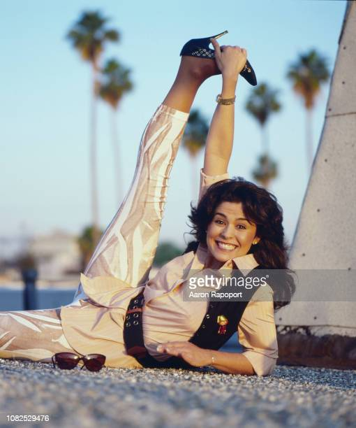 Actress Maria Conchita Alonso poses for a portrait in Los Angeles California
