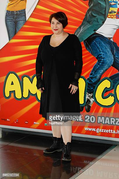 "Actress Maria Di Biase attends ""Friends as we"" photocall in Rome - Cinema Adriano"
