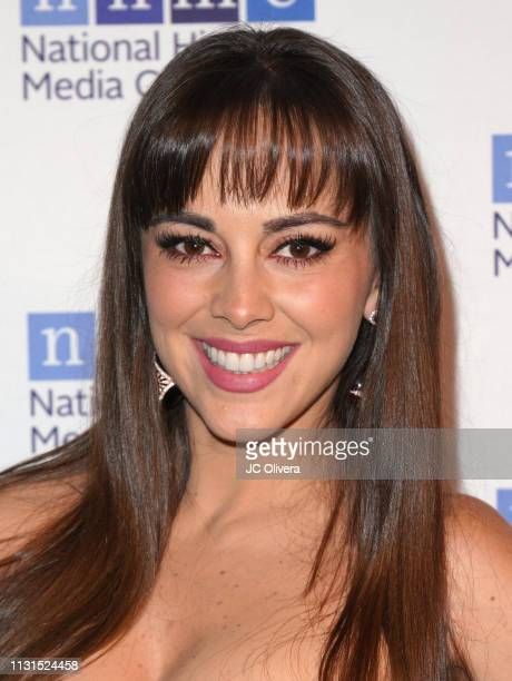 Actress Maria Elisa Camargo attends the 22nd Annual National Hispanic Media Coalition Impact Awards Gala at Regent Beverly Wilshire Hotel on February...
