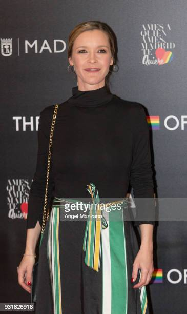 Actress Maria Esteve attends 'The Best Day Of My Life' Madrid premiere at Callao cinema on March 13 2018 in Madrid Spain