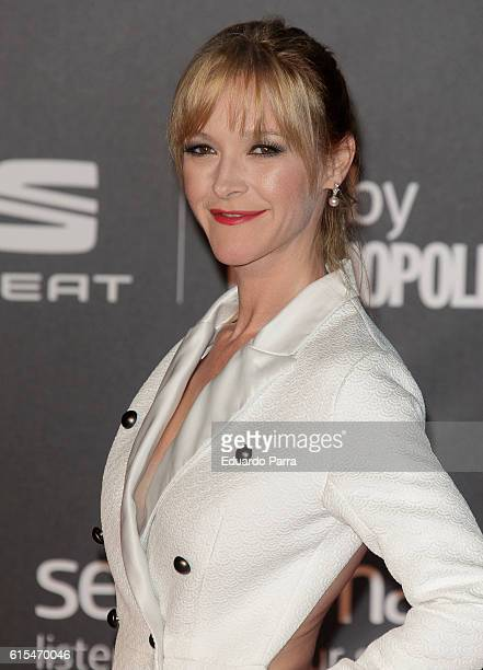 Actress Maria Esteve attends the 'Cosmopolitan Fun Fearless Female' awards 2016 at La Riviera Disco on October 18 2016 in Madrid Spain