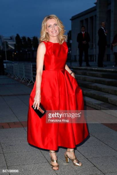 Actress Maria Furtwaengler attends the UFA 100th anniversary celebration at Palais am Funkturm on September 15 2017 in Berlin Germany