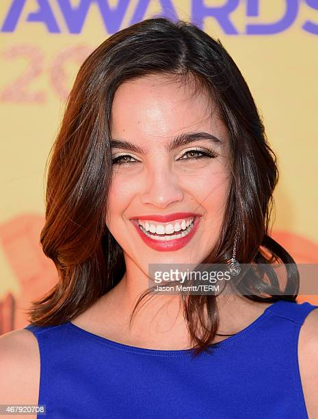 Actress Maria Gabriela de Faria attends Nickelodeon's 28th Annual Kids' Choice Awards held at The Forum on March 28 2015 in Inglewood California