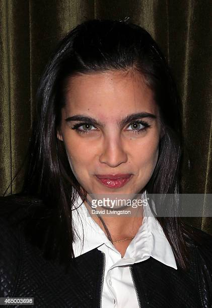 Actress Maria Gabriela de Faria attends Straight Walk A Supermodel's Journey to Finding Her Truth by Patricia Velasquez book release party at The...