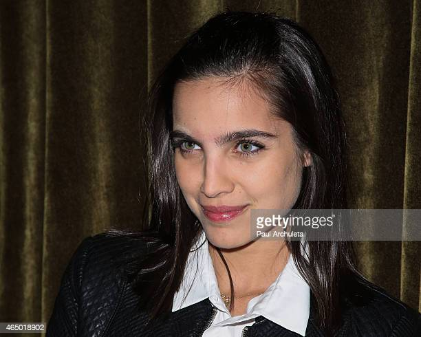 Actress Maria Gabriela De Faria attends the book release party for Straight Walk A Supermodel's Journey To Finding Her Truth at The Hollywood...