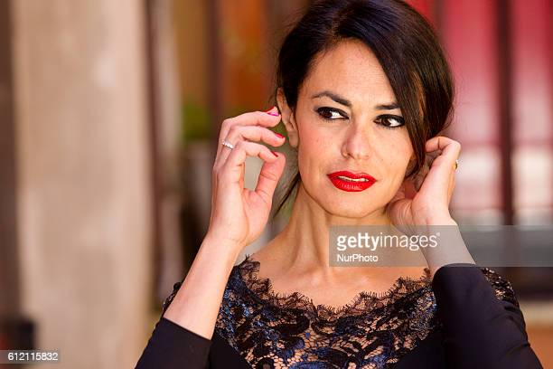 Actress Maria Grazia Cucinotta attends quot'The Tailor's Wifequot photocall in Rome