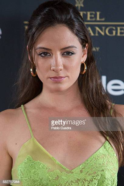 Actress Maria Hervas attends the 'Live in Colors' photocall during the InStyle Beauty Day at the Miguel Angel Hotel Garden on May 19 2016 in Madrid...