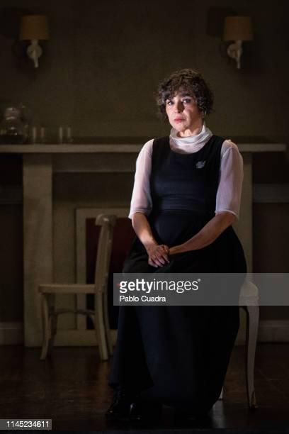 Actress Maria Isabel Diaz Lago attends La Vuelta De Nora Casa De Muñecas 2 photocall at Bellas Artes Theatre on April 26 2019 in Madrid Spain