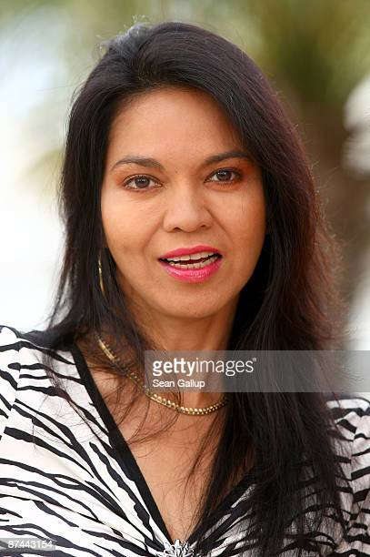 Actress Maria Isabel Lopez attends the Kinatay Photocall held at the Palais Des Festivals during the 62nd International Cannes Film Festival on May...