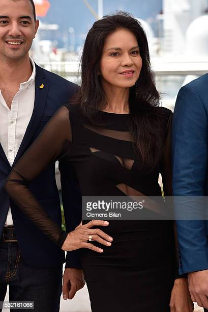 Actress Maria Isabel Lopez attends the 'Ma' Rosa' Photocall during the annual 69th Cannes Film Festival at Palais des Festivals on May 18 2016 in...