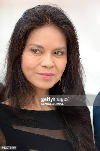 Actress Maria Isabel Lopez attends the 'Ma'Rosa' photocall during the 69th Annual Cannes Film Festival at the Palais des Festivals on May 18 2016 in...
