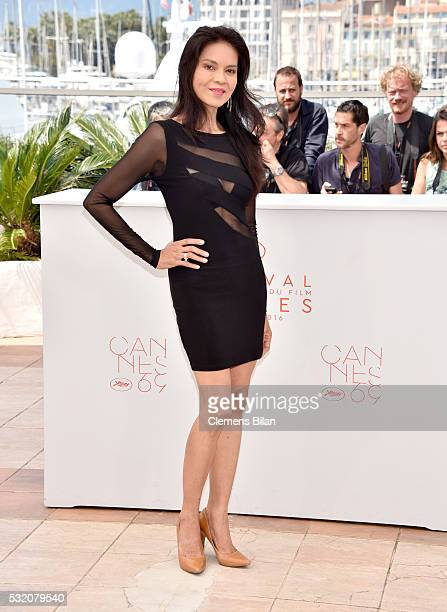Actress Maria Isabel Lopez attends the Ma'Rosa photocall during the 69th Annual Cannes Film Festival at the Palais des Festivals on May 18 2016 in...