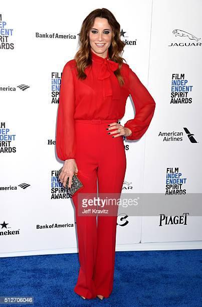 Actress Maria Joao Bastos attends the 2016 Film Independent Spirit Awards on February 27 2016 in Santa Monica California