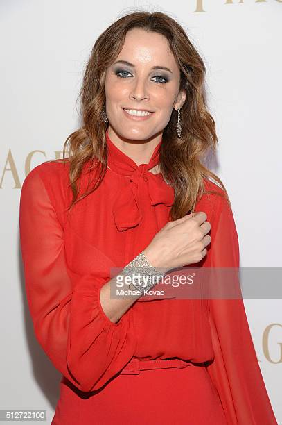 Actress Maria Joao Bastos attends the 2016 Film Independent Spirit Awards sponsored by Piaget on February 27 2016 in Santa Monica California