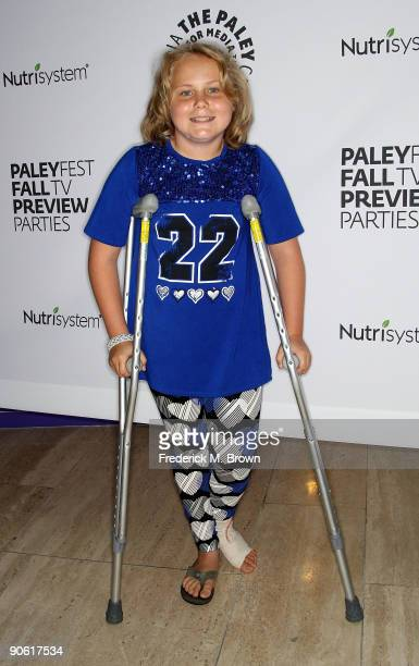Actress Maria Lark of the television show Medium attends the PaleyFest and TV Guide Magazine's CBS Fall television preview party at The Paley Center...
