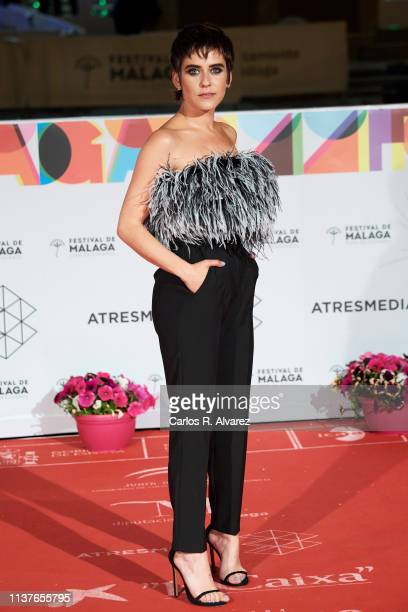 Actress Maria Leon attends the 'Retrospeciva' award ceremony during the 22th Malaga Film Festival on March 22 2019 in Malaga Spain