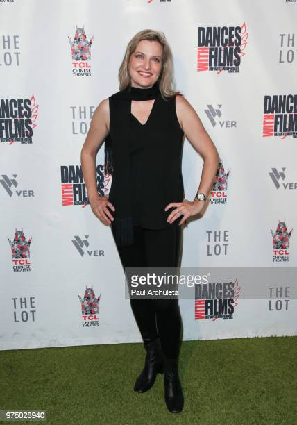 Actress Maria Maestas McCann attends the premiere of 'Shooting In Vain' at the Dances With Films Festival at The TCL Chinese 6 Theatres on June 14...