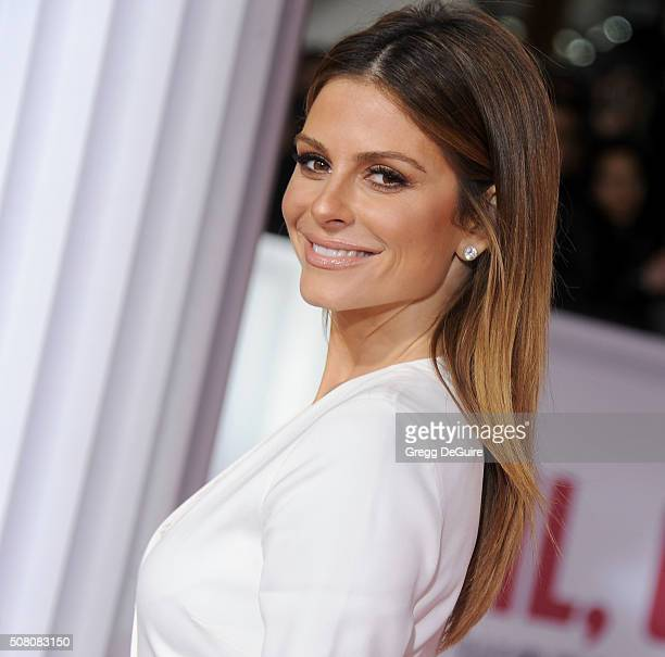 Actress Maria Menounos arrives at the premiere of Universal Pictures' Hail Caesar at Regency Village Theatre on February 1 2016 in Westwood California