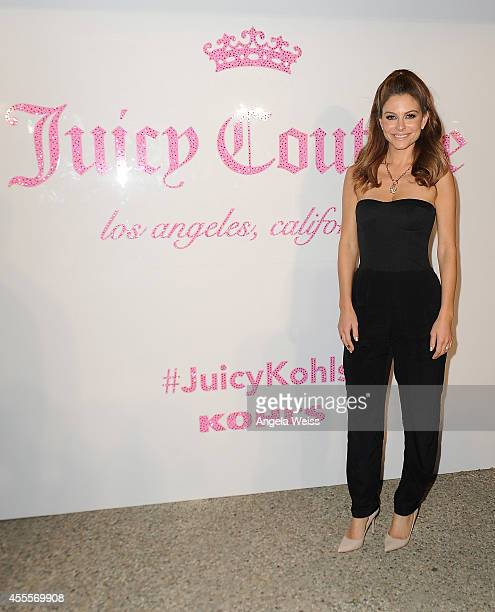 Actress Maria Menounos attends Kohl's celebration of the Juicy Couture launch Now Available at Stores Nationwide and Kohlscom held at a private...