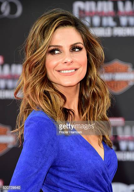 Actress Maria Menounos attends the premiere of Marvel's Captain America Civil War at Dolby Theatre on April 12 2016 in Los Angeles California